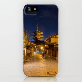 Yasaka-no-to Pagoda iPhone Case