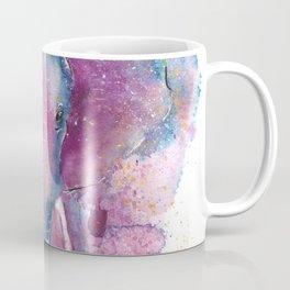 Watercolor Elephant Illustration Coffee Mug