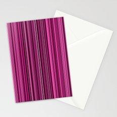 Pink Stripes Stationery Cards