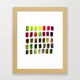 Brushstrokes 1za by Kathy Morton Stanion Framed Art Print