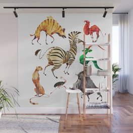 African animals 2 Wall Mural