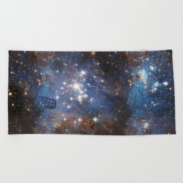 Adventures in Time and Space Beach Towel