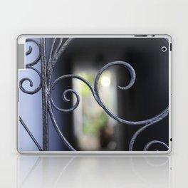 Charleston Blue Wrought Iron Laptop & iPad Skin
