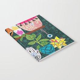 Moroccan shelf Notebook