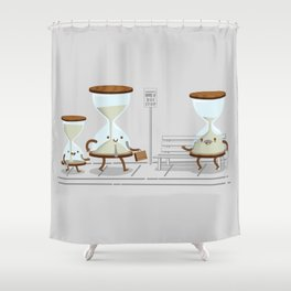 Time of Their Lives Shower Curtain