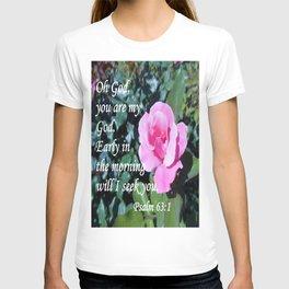Psalm 63 T-shirt