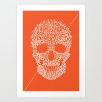 Death by Geometric Art Print