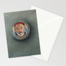 Bill Murray / Steve Zissou / Wes Anderson  Stationery Cards