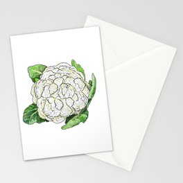 Cauliflower from the Eat Your Veggies Series Stationery Cards