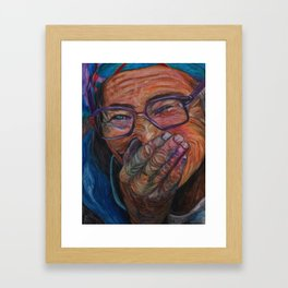Simple joy Framed Art Print