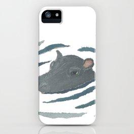 Hippo, hippopotamus, Wildlife, Africa, Savanna, Safari iPhone Case