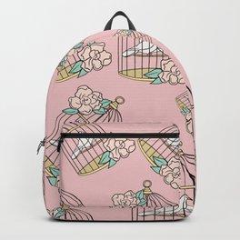 Plant-Lover-Pink-Palette Backpack