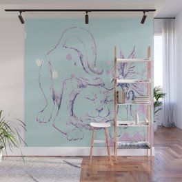Friends with Fairy's Wall Mural