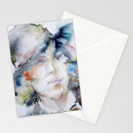 OSCAR WILDE - watercolor portrait Stationery Cards