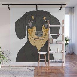 Dachshund Puppy Wall Mural