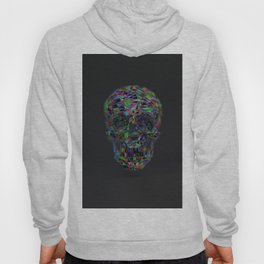 Skull Low-Poly Color Hoody