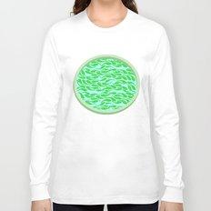Green fish Long Sleeve T-shirt