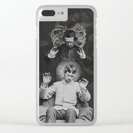 Worlds Hitherto Unseen Clear iPhone Case