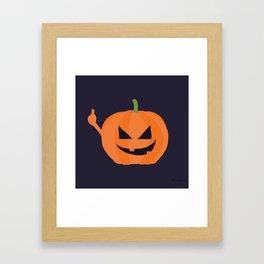 Pumpkin Spice Framed Art Print