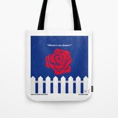 No170 My BLUE VELVET minimal movie poster Tote Bag