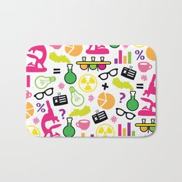 Neon Scientist Bath Mat