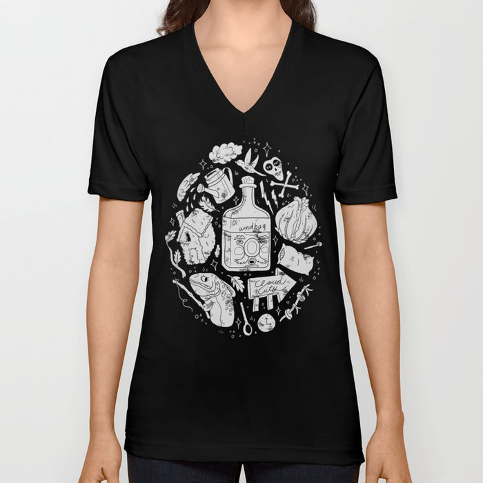 Babes in the Woods Unisex V-Neck