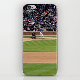 chicago cubs // wrigley field iPhone Skin