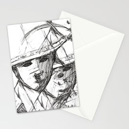 Now we're dead Stationery Cards