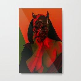 Devil in Waiting Metal Print