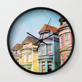 Rainbow Road Wall Clock