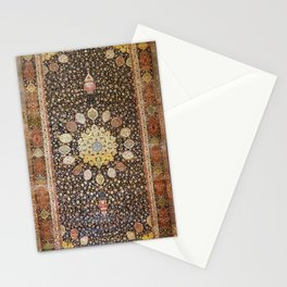 Ardabil Persian Safavid Carpet Print Stationery Cards