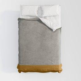 Concrete Colorblock Comforters