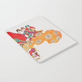 She's One Groovy Chick Notebook