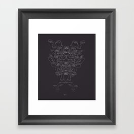faces Framed Art Print