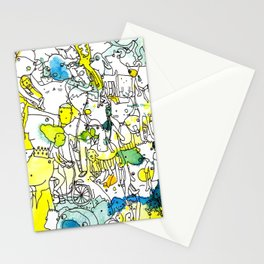 Character Cohesion Stationery Cards