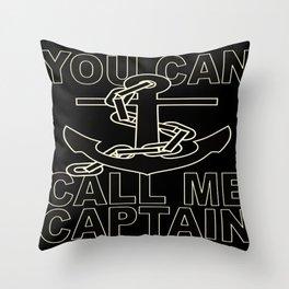 sailing gift Throw Pillow