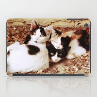 thundercats iPad Cases featuring Three Kitties by Augustinet