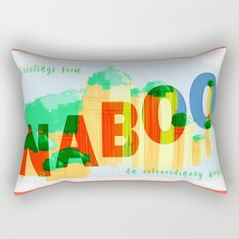 Greetings from Naboo Rectangular Pillow