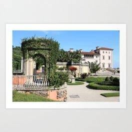 Villa Vizcaya Garden View Art Print