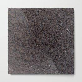 Texture #6 Soil Metal Print