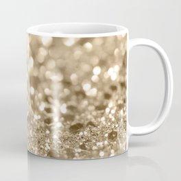 Champagne Gold Lady Glitter #2 #shiny #decor #art #society6 Coffee Mug