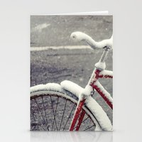 cycle Stationery Cards featuring Cycle by Kiersten Marie Photography