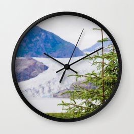 Mendenhall and Tree Wall Clock