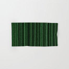 Green Matrix Hand & Bath Towel