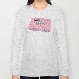 Cassete Tape Long Sleeve T-shirt