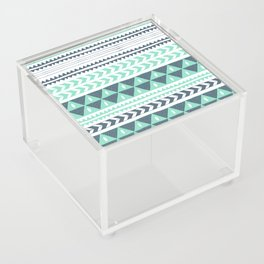 Winter Stripe Acrylic Box