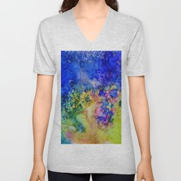 the conglomerate of color Unisex V-Neck