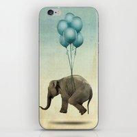 dumbo iPhone & iPod Skins featuring Dumbo by Vin Zzep