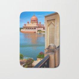 Putra Mosque Malaysia Bath Mat