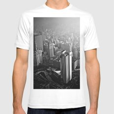 What is to come:  We have been warned  White Mens Fitted Tee MEDIUM